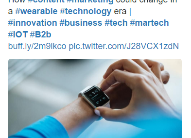Twitter Result for a Tech Brand