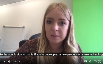 [VLOG] Trying to get new tech out to market? Find the balance