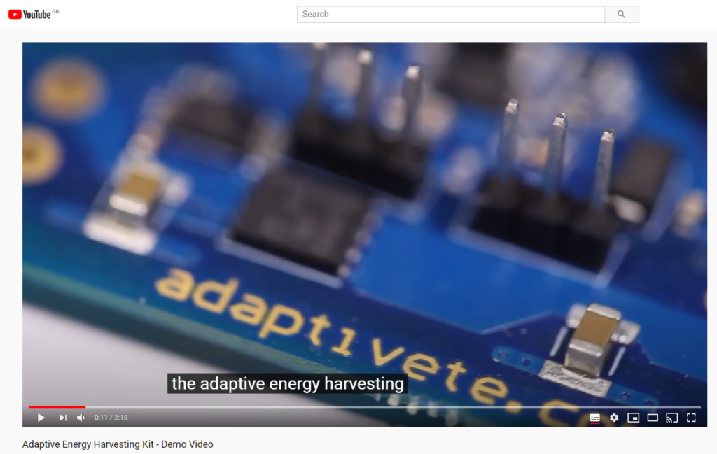 demo video example for an engineering company